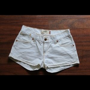 Levis 504 slouch shorts